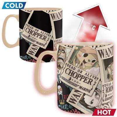One piece mug thermoreactif 460 ml wanted