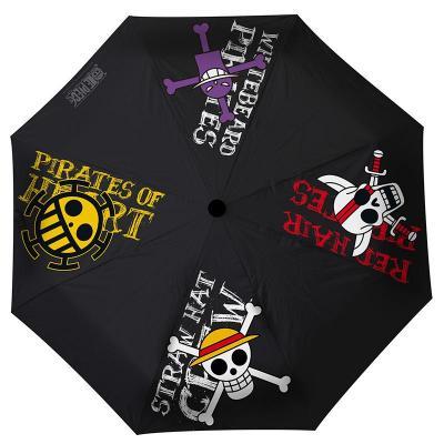 One piece parapluie emblemes pirates