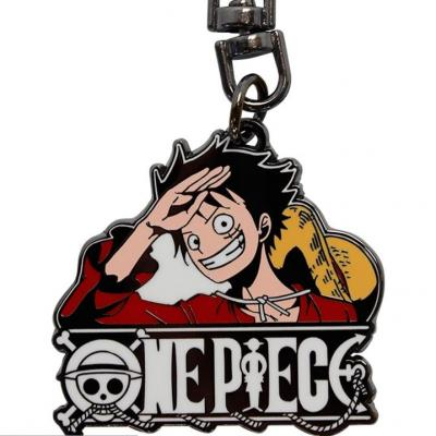 One piece porte cles metal luffy new world