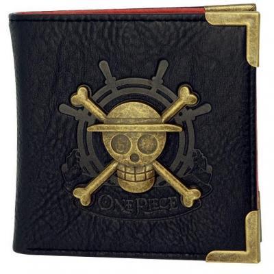 One piece portefeuille premium skull