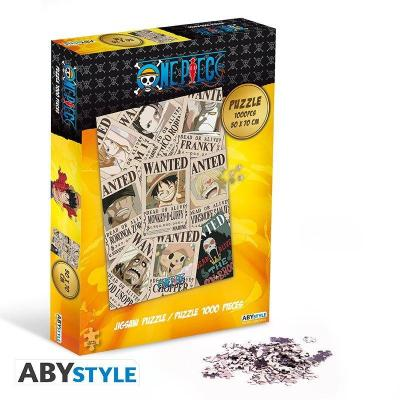 One piece puzzle 1000 pieces wanted