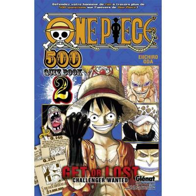 One piece quiz book 500 questions tome 2