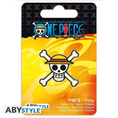 One piece skull pin s