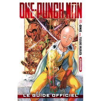 One punch man le guide officiel