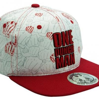 One punch man poings casquette snapback