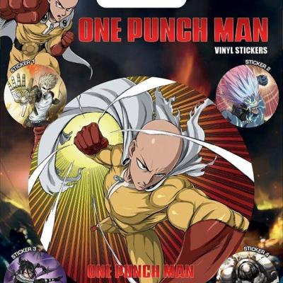 One punch man vinyl stickers characters