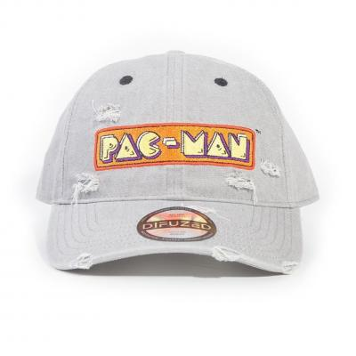 Pac man casquette logo denim