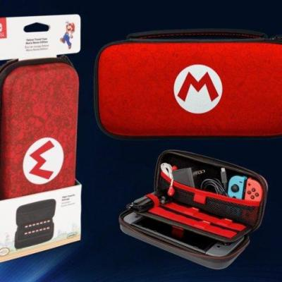 Pdp official deluxe travel case mario for nintendo switch