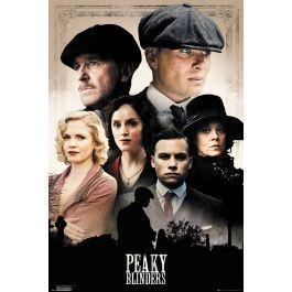 Peaky blinders poster 61x91 cast