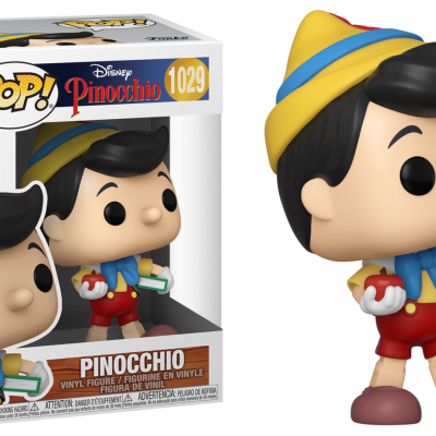 Pinocchio bobble head pop n 1029 school bound pinocchio