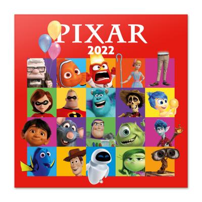 Pixar calendrier 2022 30x30cm