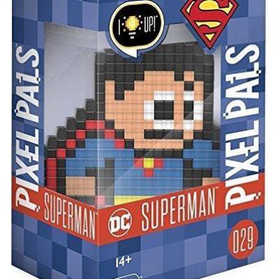 Pixel pals light up collectible figures superman