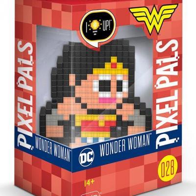 Pixel pals light up collectible figures wonder woman