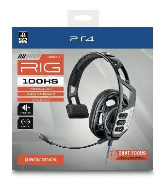 Plantronics rig 100 hs official headset ps4 promo