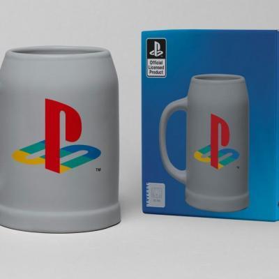 Playstation chope ceramique 600ml classic logo