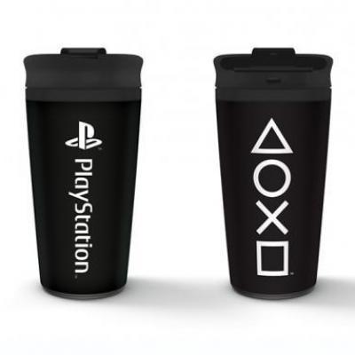 Playstation onyx mug de voyage en metal 450ml