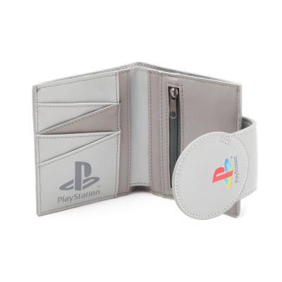Playstation shaped playstation bifold wallet