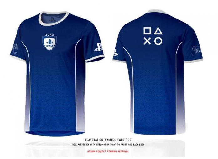 Playstation t shirt esport jersey playstation symbol