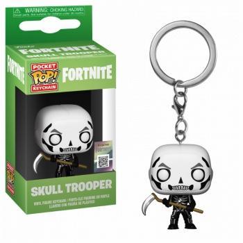 Pocket pop keychains fortnite skull trooper