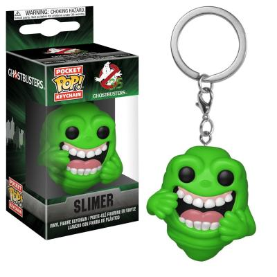 Pocket pop keychains ghostbusters slimer