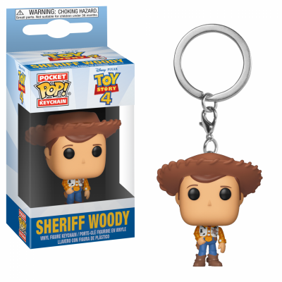Pocket pop keychains toy story 4 sheriff woody