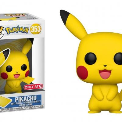 Pokemon bobble head pop n 353 pikachu