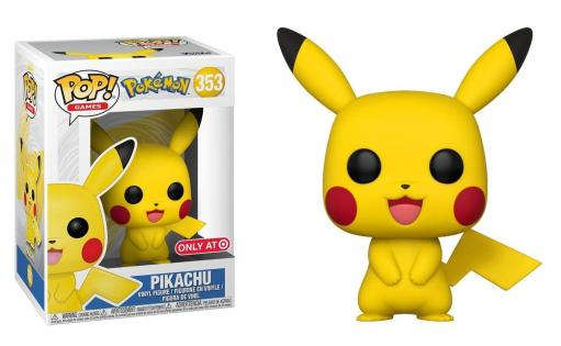 Pokemon bobble head pop n 353 pikachu