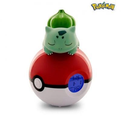 Pokemon bulbizarre pokeball reveil avec lampe led