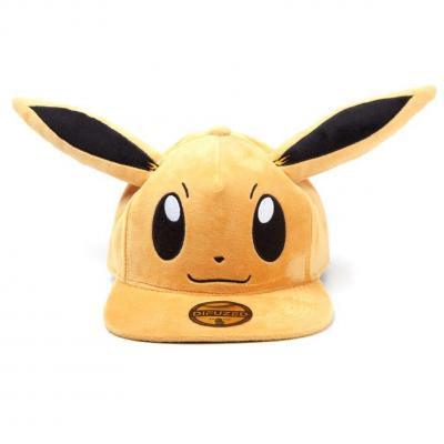 Pokemon casquette snapback eevee plush premium 1
