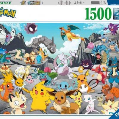 Pokemon classics puzzle 1500p