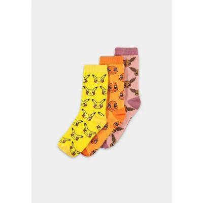 Pokemon crew pack de 3 paires de chaussettes t39 42
