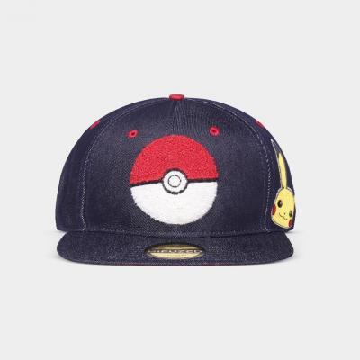 Pokemon denim casquette