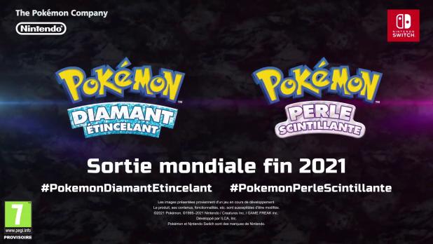 Pokemon diamant etincellant perle scintillante switch precommande
