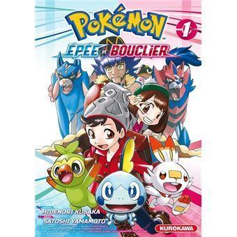 Pokemon epee et bouclier tome 1
