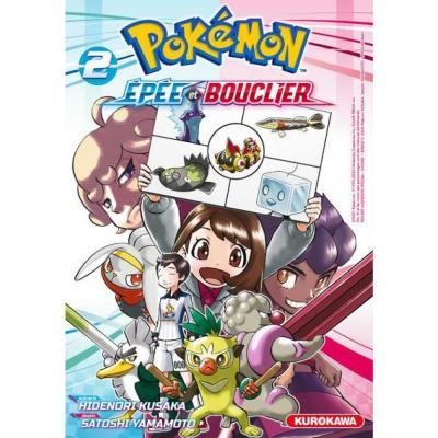 Pokemon epee et bouclier tome 2