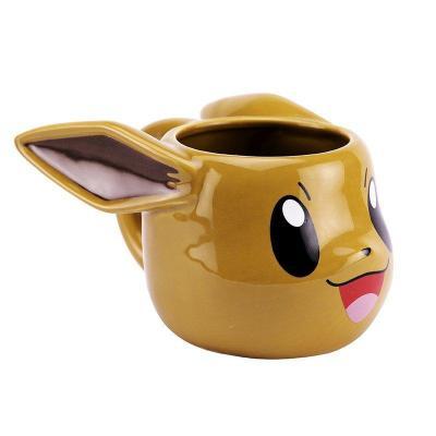 Pokemon evoli mug 3d 500ml