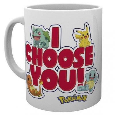 Pokemon i choose you mug 315ml