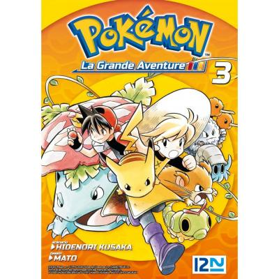 Pokemon la grande aventure tome 3