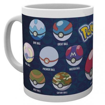 Pokemon mug 300 ml ball varieties