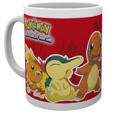 Pokemon mug 300 ml fire partners
