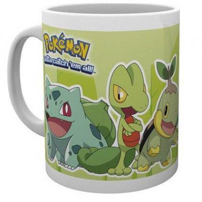 Pokemon mug 300 ml grass partners