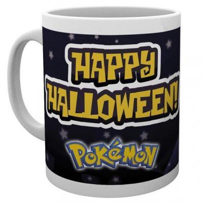 Pokemon mug 300 ml happy halloween starters