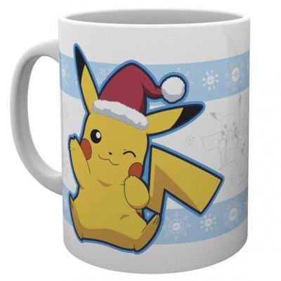 Pokemon mug 300 ml pikachu santa christmas