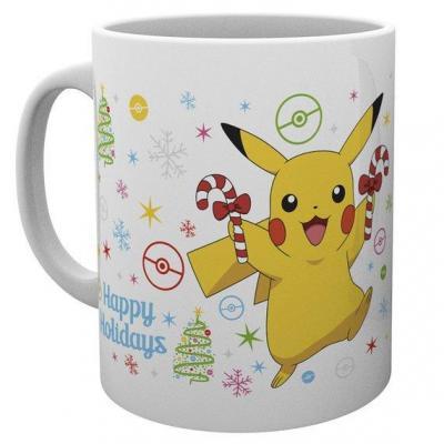 Pokemon mug 300 ml xmas pikachu christmas