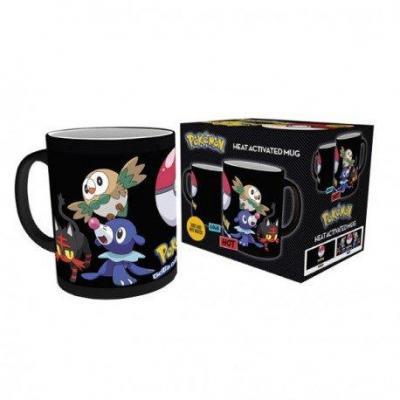 Pokemon mug thermoreactif 300 ml attrapez les tous