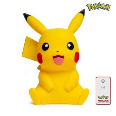 Pokemon pikachu assis lampe led 40cm