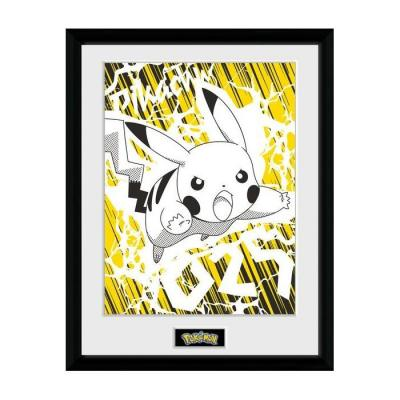 Pokemon pikachu bolt collector print 30x40cm