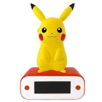 Pokemon pikachu reveil avec lampe led