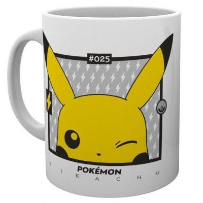 Pokemon pikachu wink 025 mug 300ml
