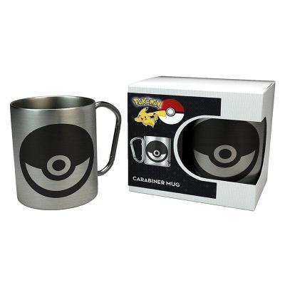 Pokemon pokeball mug mousqueton 240ml